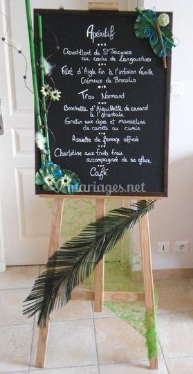 Location menu
