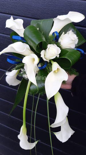 Bouquet de mariée Calla