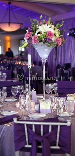 Location vase martini