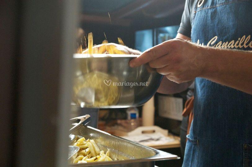 Miam les frites maison