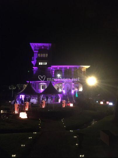 Villa Tosca éclairage façade
