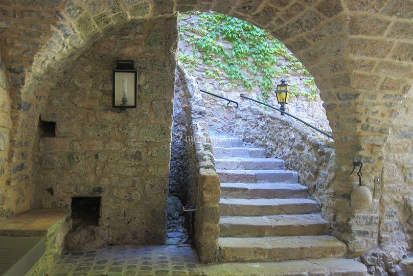 Escalier rez-de-chaussée