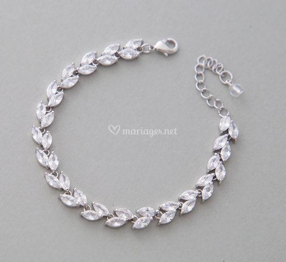 Bracelet mariée élégant