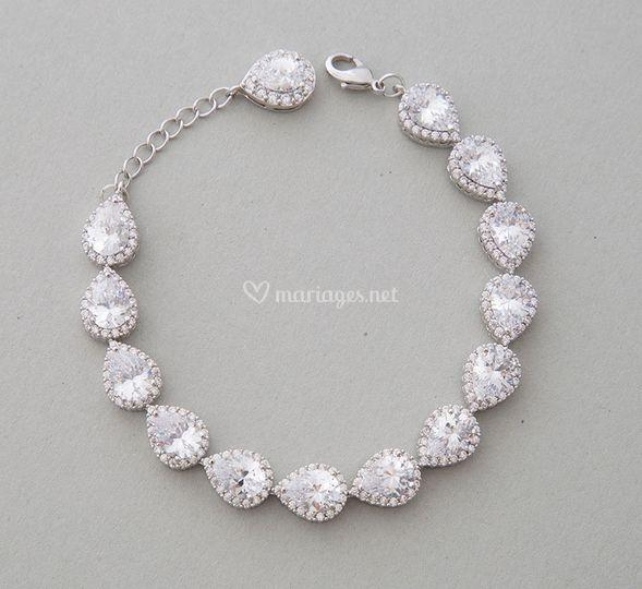Bracelet mariée chic