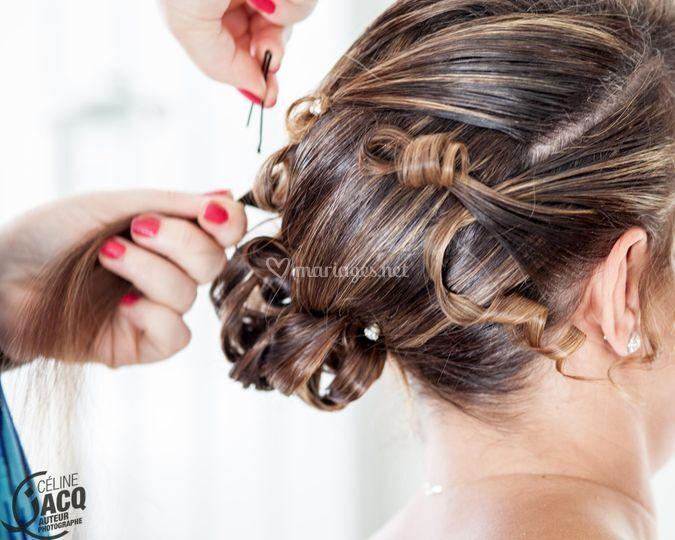 Préparatif ? coiffure