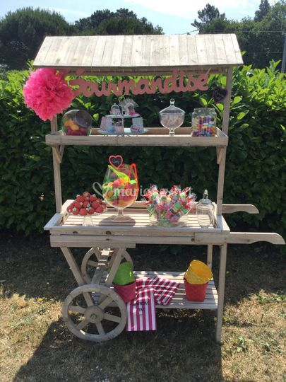 Candy bar en location
