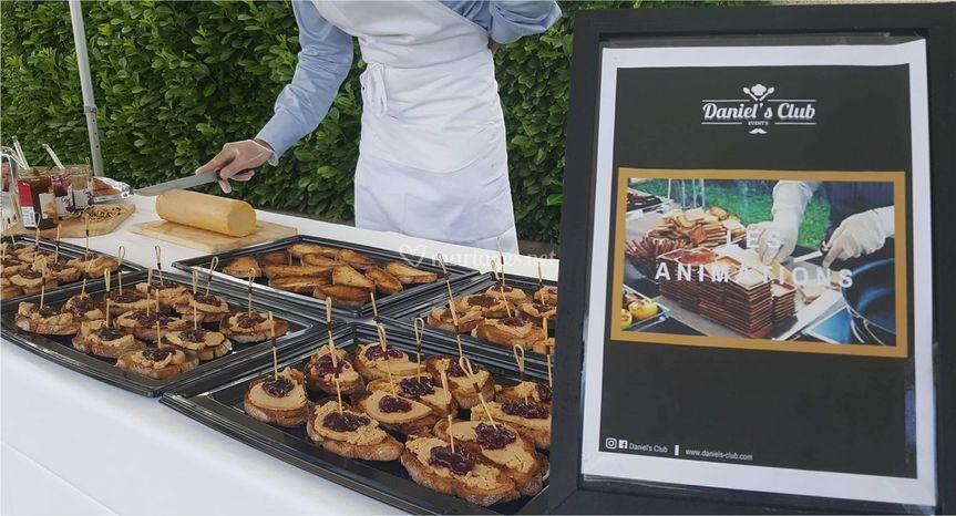 "Buffet animation ""foie gras"""