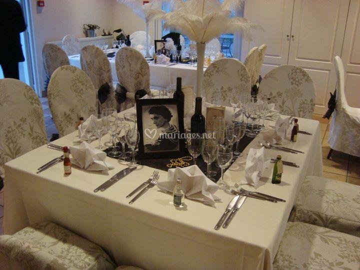 Table de cérémonie