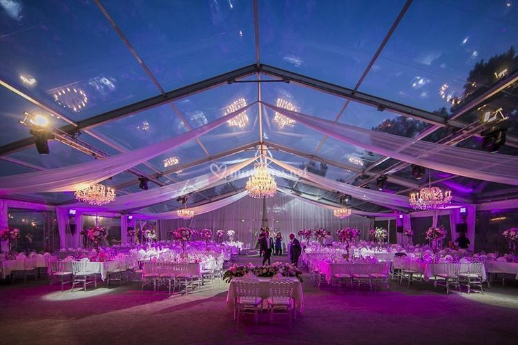 Salle Le Marquee nuit