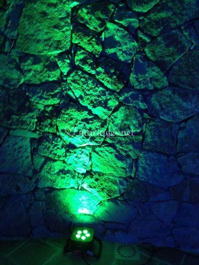 Projecteur vert
