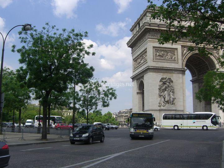 Autocar Paris