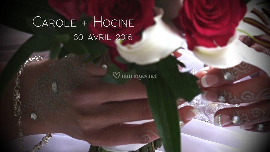 Carole + Hocine