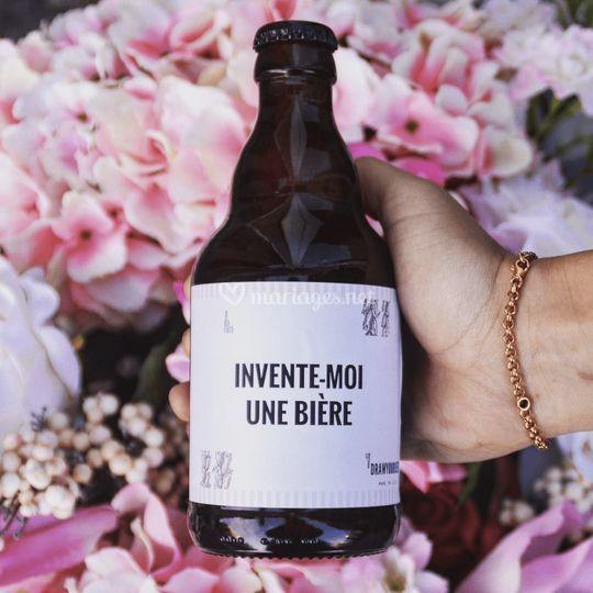 Bière à personnaliser