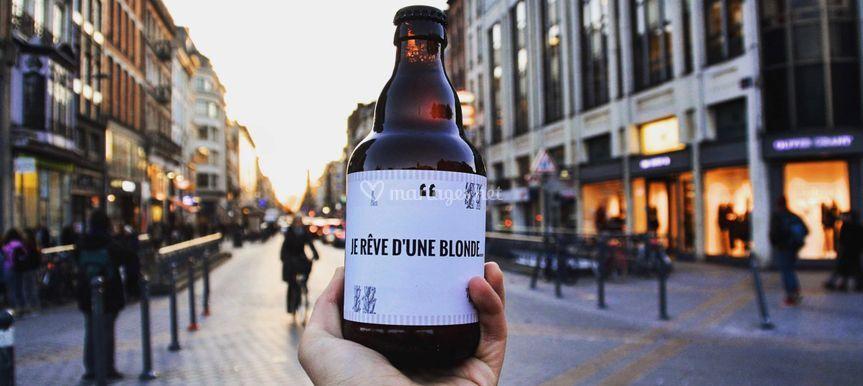 Bière personnalisée DYB