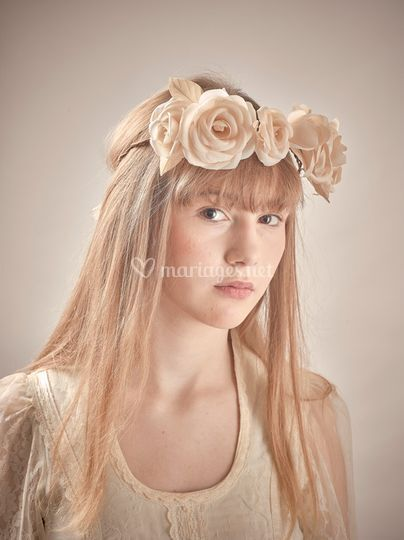 Roses ivoires
