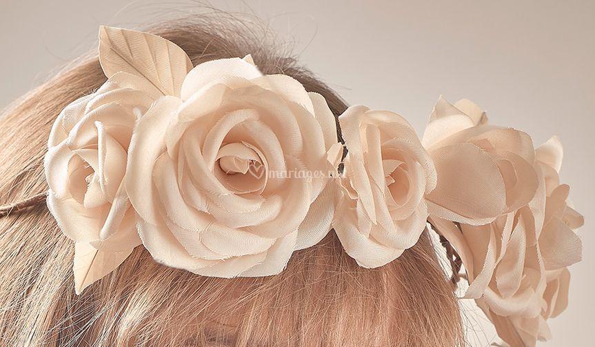 Roses montées sur couronnes