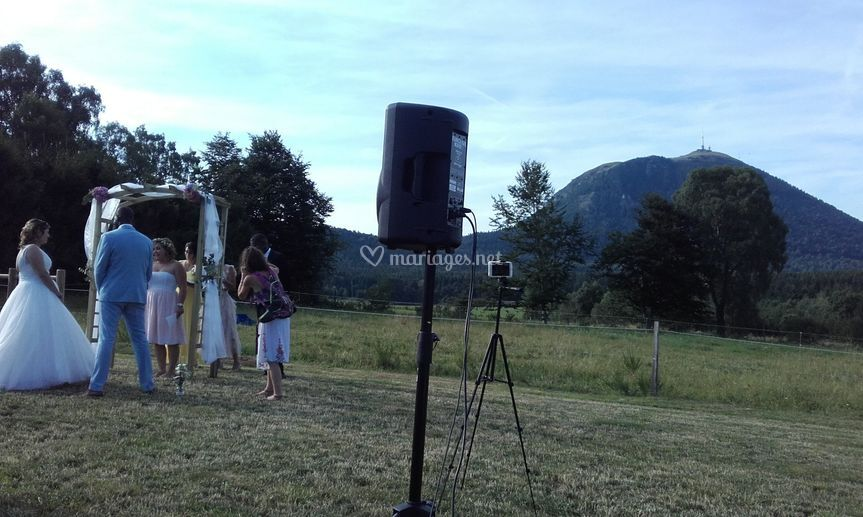 Sonorisation cérémonie laïque