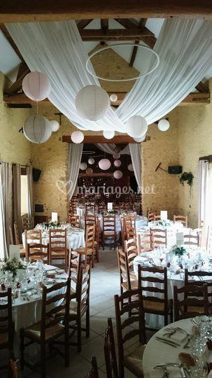 Salle de réception mariage C&T
