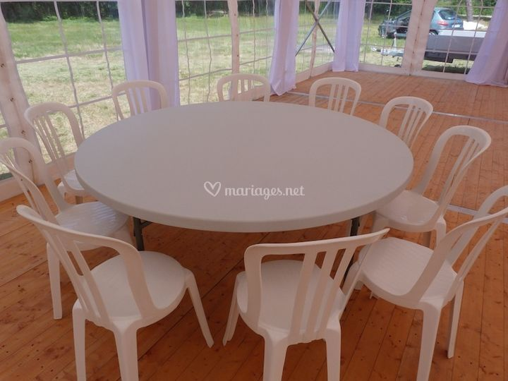 Bsl location - Location table et chaise montpellier ...