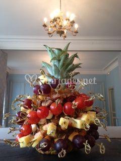 Piques sur ananas