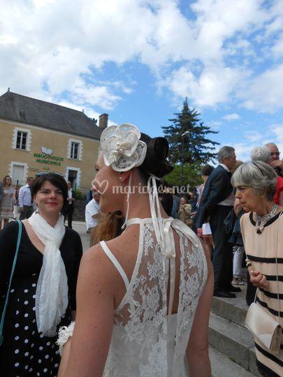 Robe de mariée années 30
