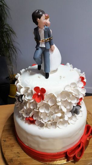 Wedding Cake avec figurine