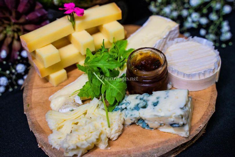 Plateau de fromages de régions