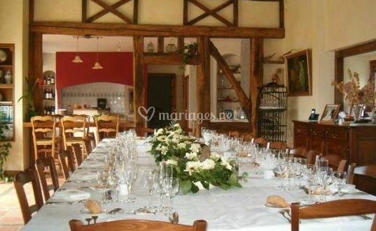 Salle pour petit mariage