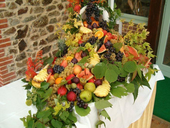 Corne d'abondance de fruits