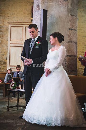Robe de mariée tulle dentelle