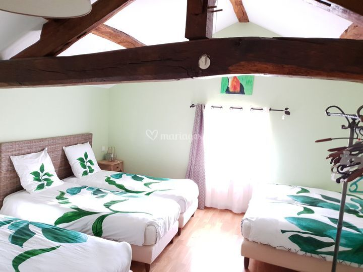 Chambre Toucan 6 lits