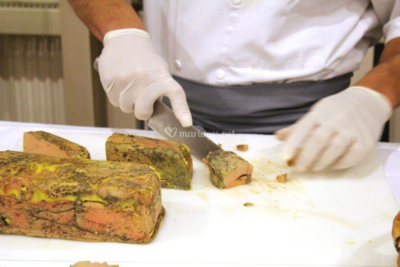 Stand Foie gras maison