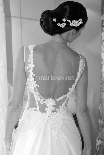 La beauté de la mariée