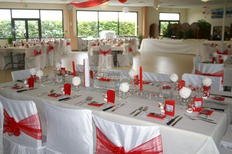 Salle et décoration