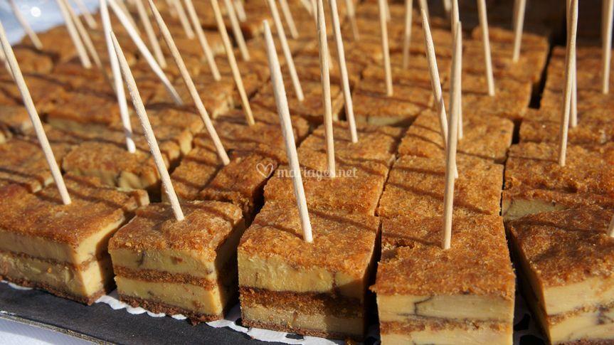 Mikado de foie gras