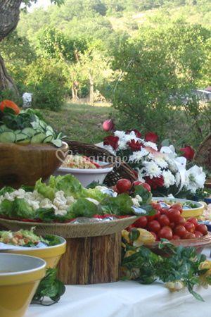 Buffet végétal
