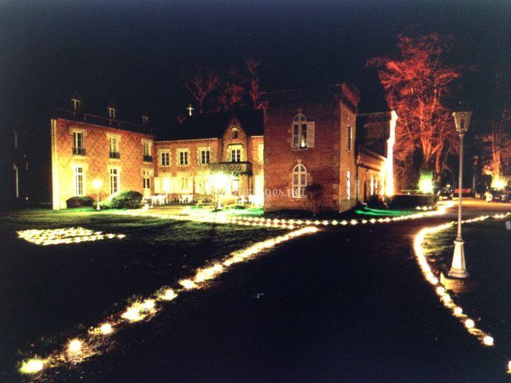 Déco 3.000 bougies les muids
