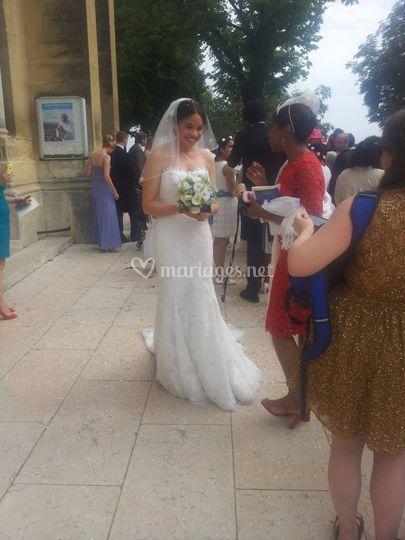 Mariage à la cathédrale d'Uzès