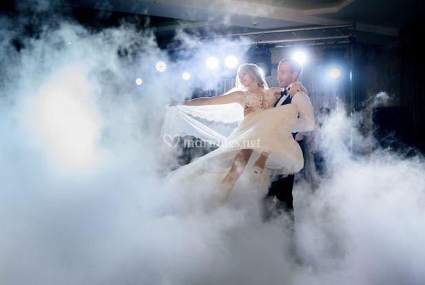 Apparition des mariés