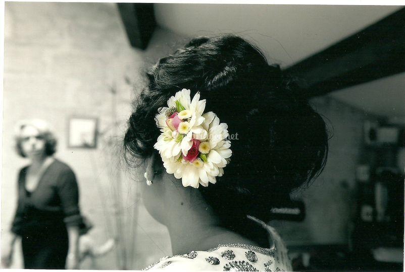 Une parure florale