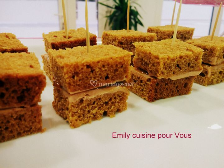 Foie gras pain d'epices