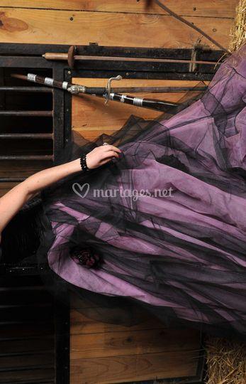 """Robe """"Gothique Violetta"""""""
