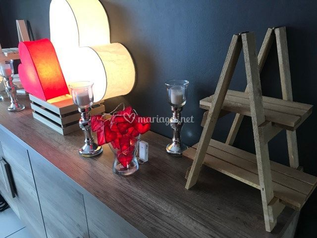 Nouvelle deco de table buffet