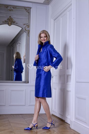 Tenue Azam et robe Giada royal