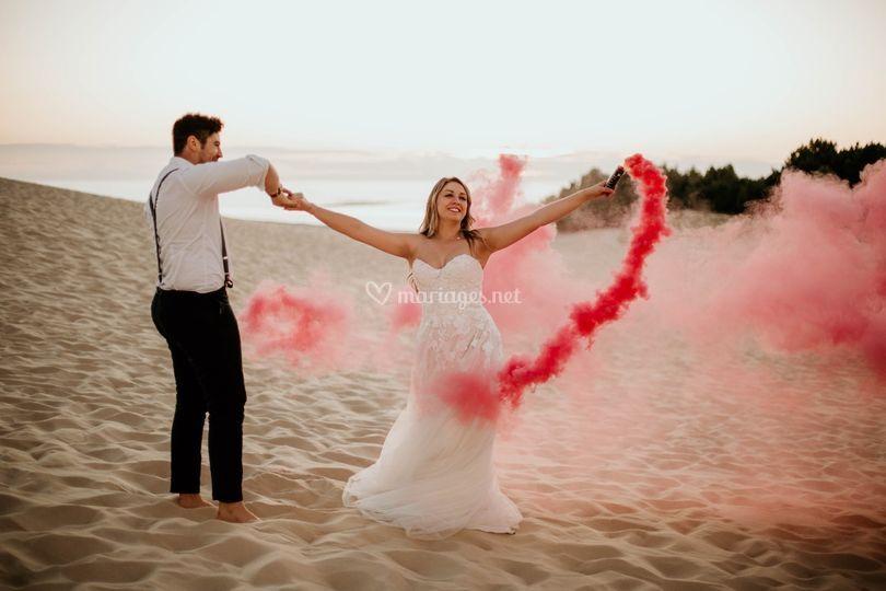 Mariage Dune du Pilat