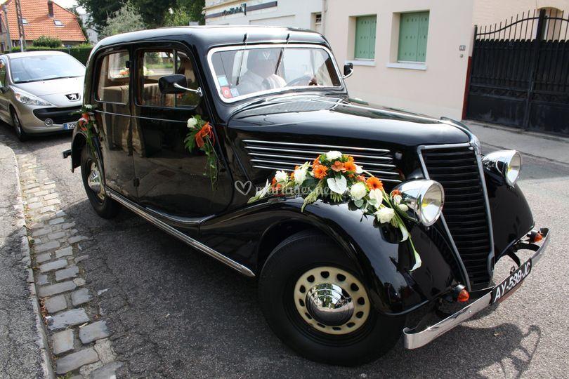 Décoration voiture ancienne