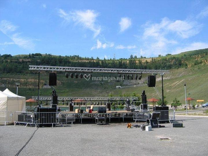 Concert plein air