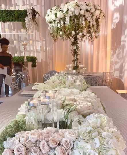 Décoration fleurs chic