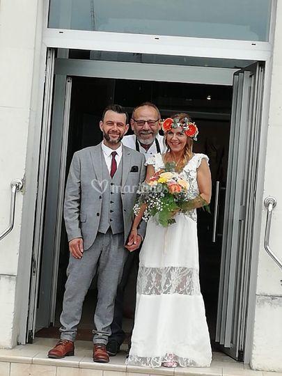 Robe de mariée sur mesure 2019