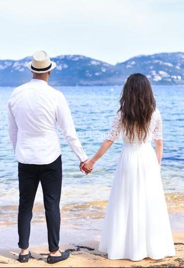 Mariage à porto vecchio